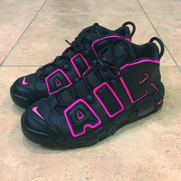 new arrivals 936c4 37c73 Nike Shoes | Air More Uptempo Gs Black Pink Pippen | Poshmark